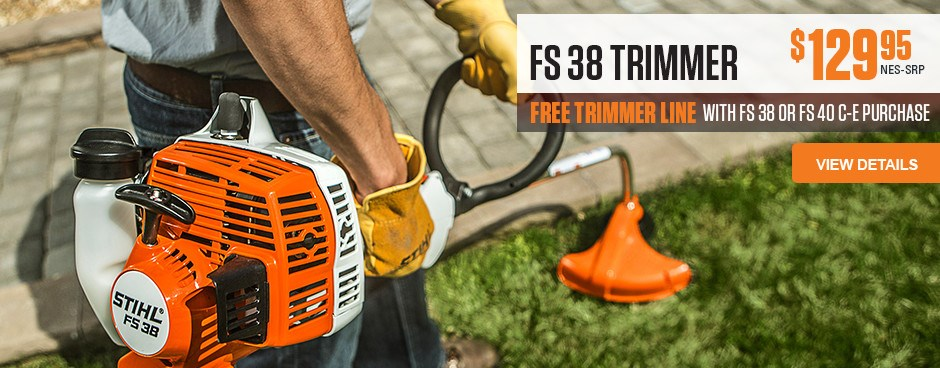 FS 38 Trimmer is one of the many Mayer Power Products by Stihl